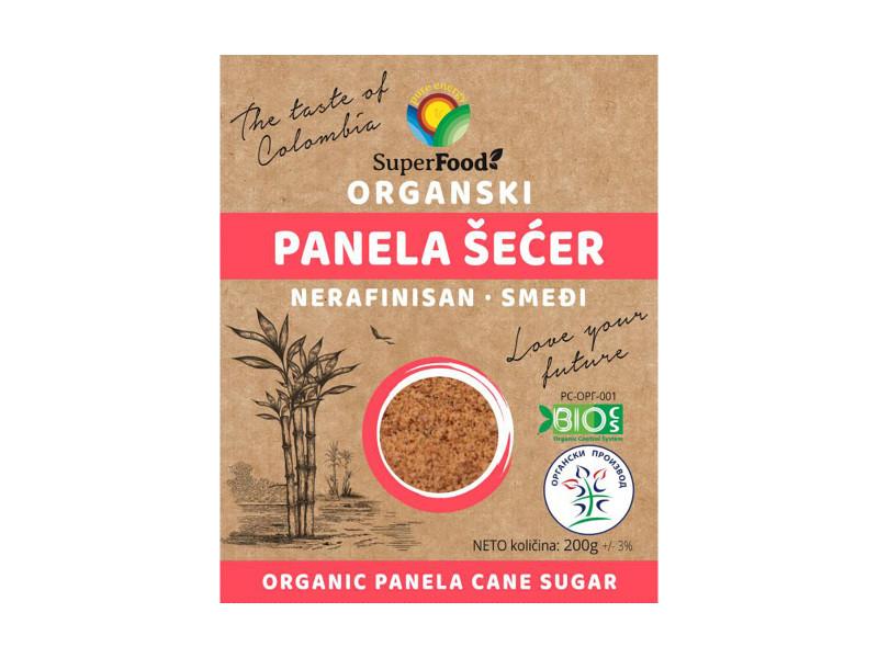 Organski panela šećer