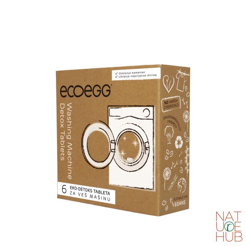 Eco Egg, detoks tablete za veš mašinu, 6 tbl