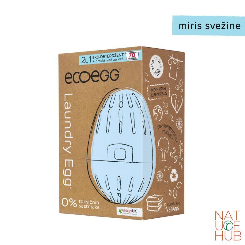 Eco Egg deterdžent za veš, miris svežine 70 pranja