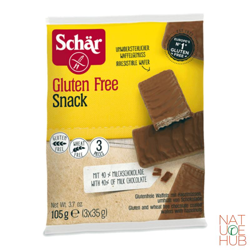 Bezglutenski snack sa 40% mlečne čokolade, 105g