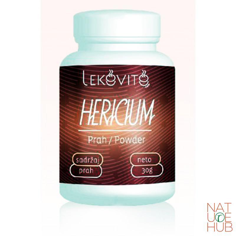 Prah hericium gljive, 30g