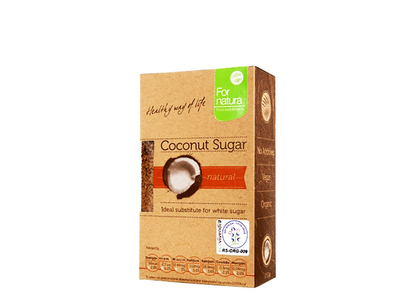 Kokosov šećer je zdraviji šećer