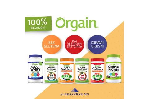 Orgain Organic whey protein: Prirodni organski protein