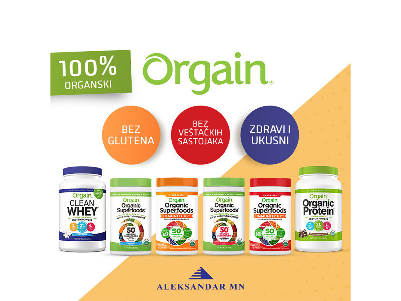 Orgain Organic whey protein
