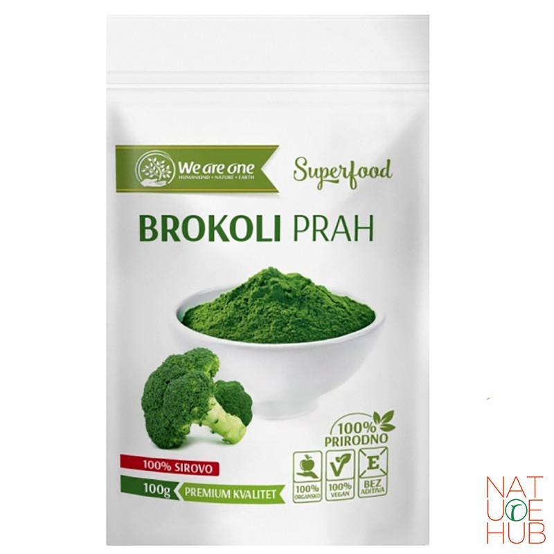 Brokoli prah sirovi, 100g