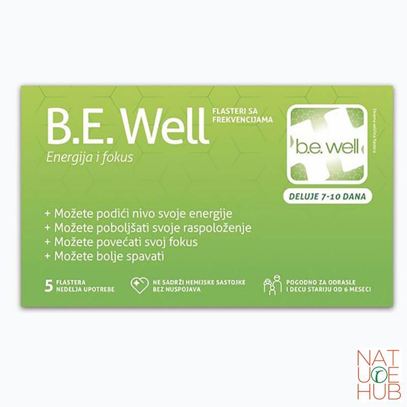 B.E. Well flasteri sa frenkvencijama, 5 komada/nedelja