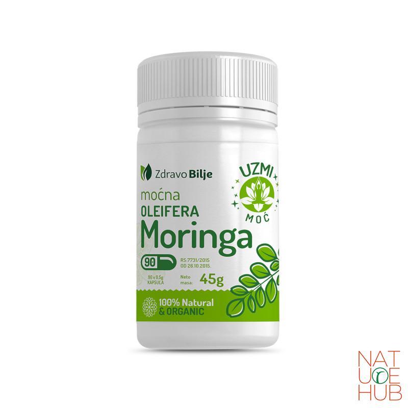 Moćna moringa oleifera 90 kapsula