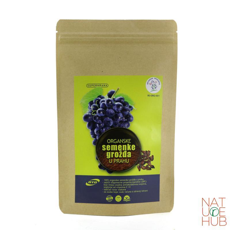 Organske semenke grožđa u prahu 200g