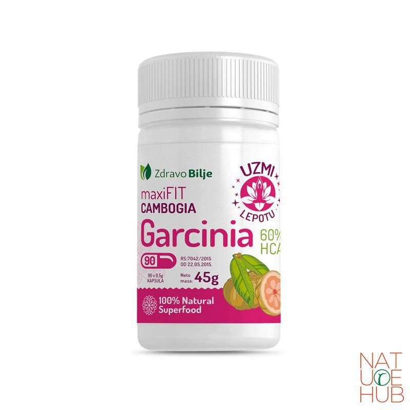 Garcinia cambogia maxi fit 60% HCA 90 kapsula